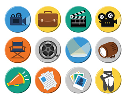 Theater, Film & Movie Icons