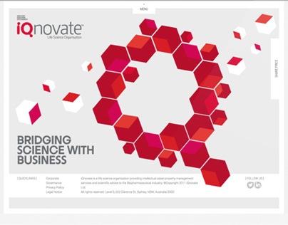 iQnovate Website