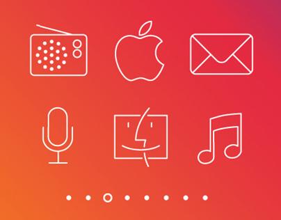 Free Apple Icons iOS 7