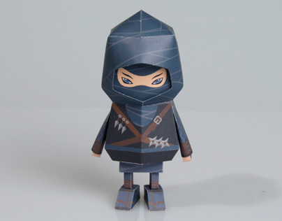 [ NINJA ] Paper toy of Boogiehood
