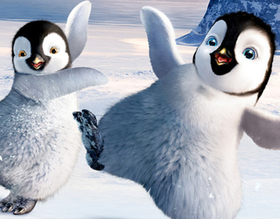 Happy Feet 2: DJ Dancing Penguins