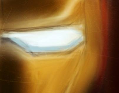 Iron Man Iphone 4 Painting