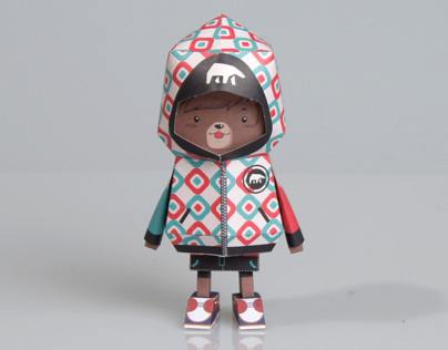 [ BEAR ] Paper toy of Boogiehood