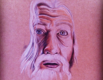 Gandalf portrait