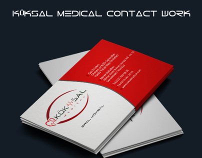 Köksal Medical visiting card