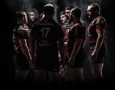Campaign Peugeot Partner/Stade Toulousain rugby team