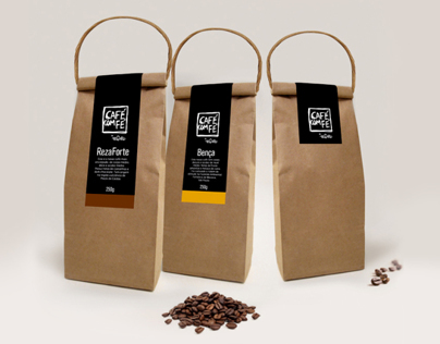 Embalagem Café com Fé