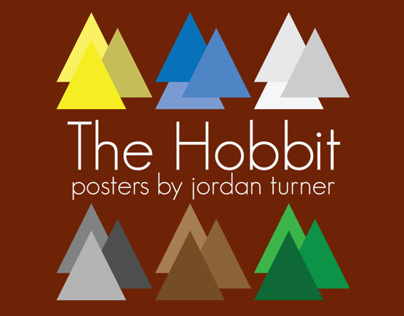 The Hobbit: Geometric Posters