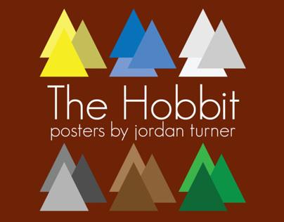 The Hobbit: Geometric Posters