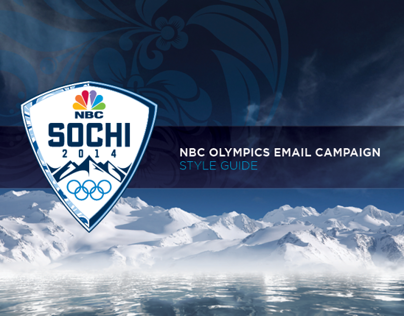 NBC Olympics EMAIL CAMPAIGN  STYLE GUIDE