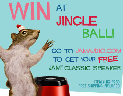 Jingle Ball Prize Winner Email Blast