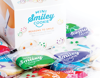 Mini Smiley Cookie Packaging
