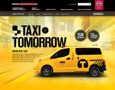 NV200 TAXI OF TOMORROW