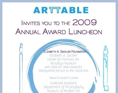 Art Table Invite Package
