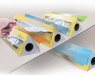 Structural Packaging: Kitchen Wrap