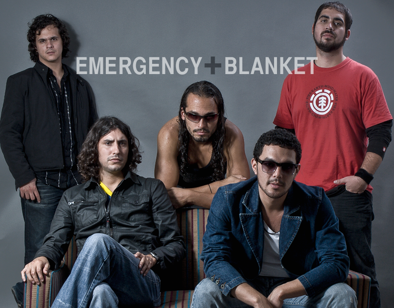 Web design for the Peruvian rock band Emergency Blanket