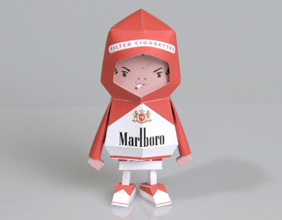 [ Marlboro ] Paper toy of Boogiehood