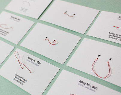 Self Identity design - Business card
