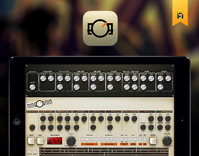 nineOnine - Drum machine iPad app: Classic Version