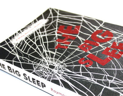 The Big Sleep - 2013 Penguin Book Cover Competition