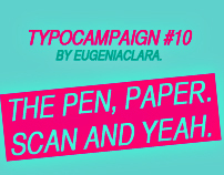 [UPDATE] TYPOCAMPAIGN #10 | THE PEN, PAPER, SCAN & YEAH