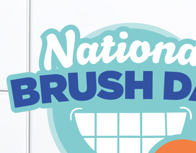 National Brush Day Logo