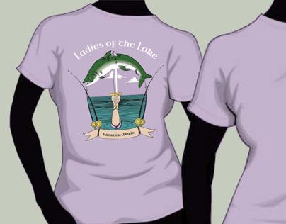 Ladies of the Lake T-shirt Design