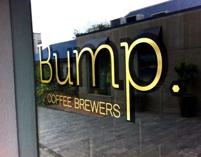Small business identity - Bump Coffee Brewers