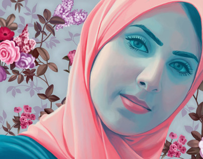 Digital Painting ... Salma
