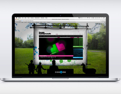Happy Handgrenade - Website design