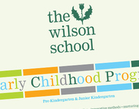 Wilson School Early Childhood booklet