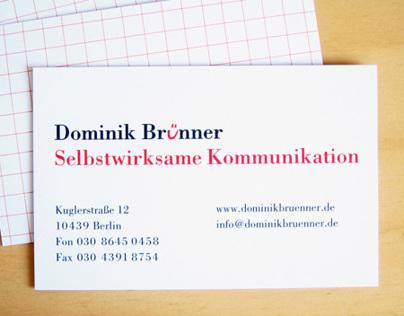 Dominik Brünner, communications trainer