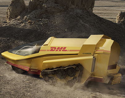 DHL Wherever campaign