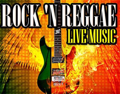 ROCK N REGGAE Poster Design