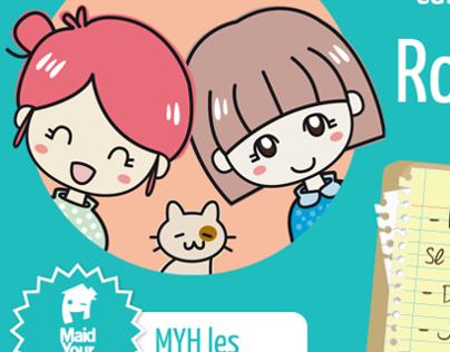 Ilustraciones para Maid Your House