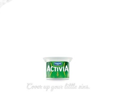Activia - Cover up your little sins