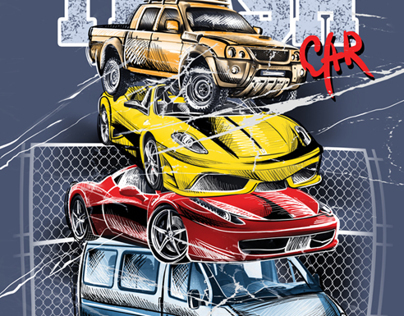 DRAWN CARS