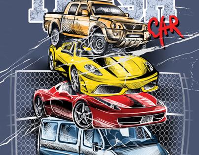 DRAWN CARS