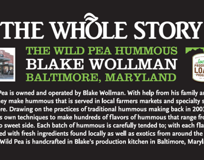 Whole Stories for Whole Foods Market