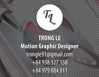 Trong Le - Motion Graphic Reel 2013