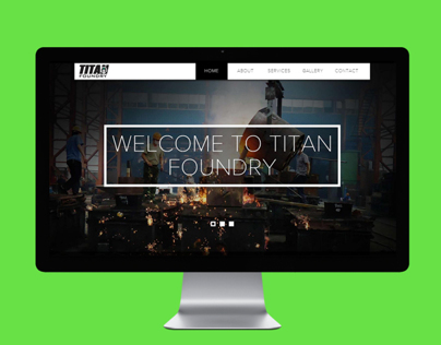 Titan Foundry Responsive Website