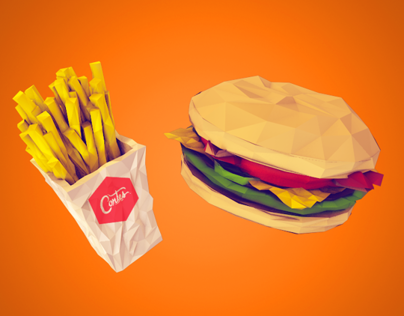 Low Poly Buffet!