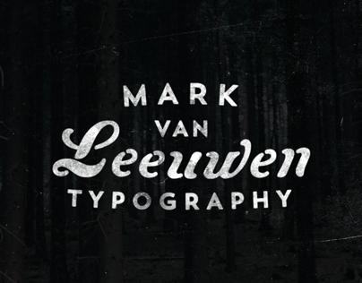 Mark van Leeuwen Identity - 2014