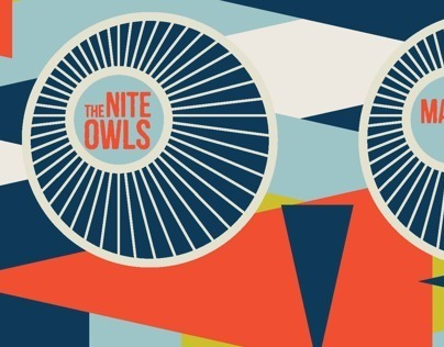 Athenaeum Nite Owls promotional postcard