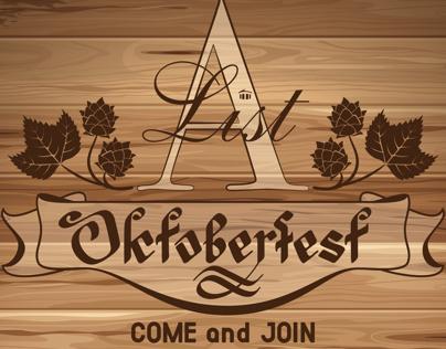 Oktoberfest A List promotional postcard