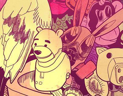 BEAR & THE FACES.