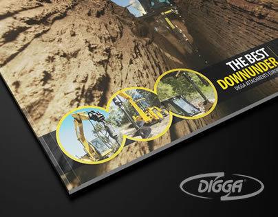 Digga corporate brochure design