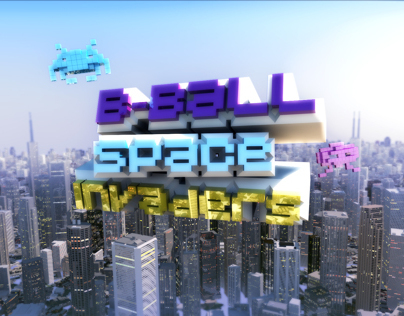 B-Ball Space Invaders