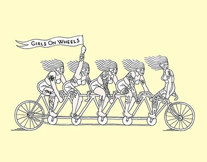 GIRLS ON WHEELS I