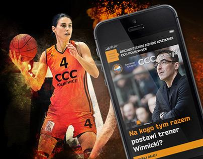 CCC Polkowice Women Basketball Team